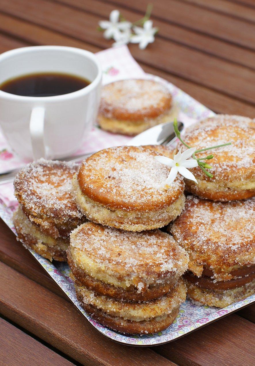 galletas rellenas de crema