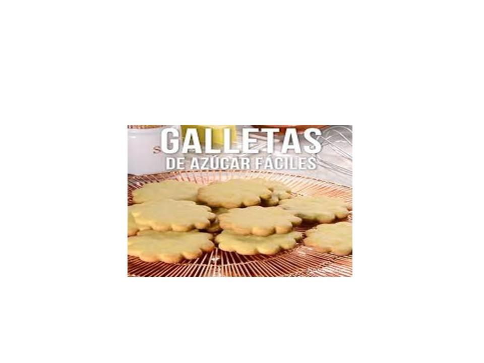 receta galletas faciles